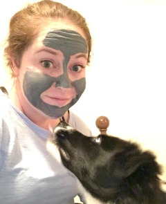 charcoal mask with remus